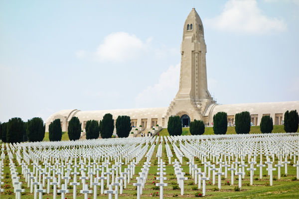 Douaumont ossuary and cemetery, Verdun, France