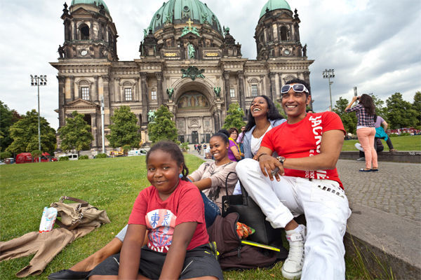 Lustgarten and Berlin Cathedral, Germany