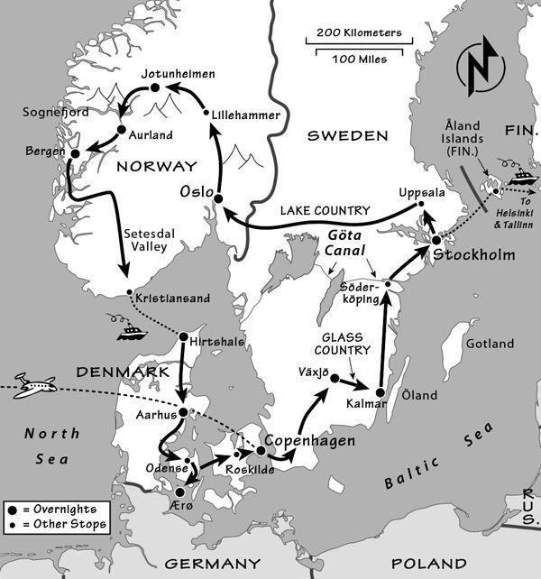 Scandinavia Itinerary Where To Go In Scandinavia By Rick
