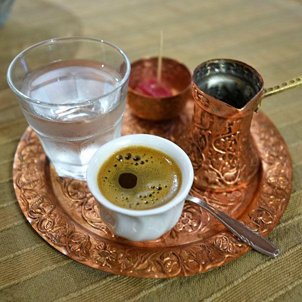 Bosnian coffee, Mostar, Bosnia-Herzegovina