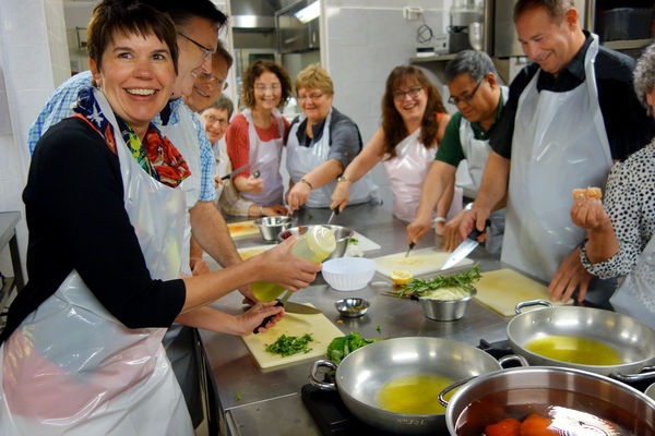 Cooking class, Florence, Italy