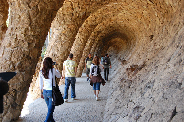 Park Güell, Barcelona, Spain