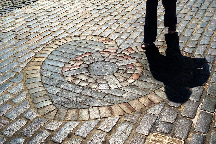 Heart of Midlothian, Royal Mile, Edinburgh, Scotland