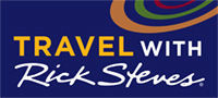 Travel with Rick Steves logo, full color