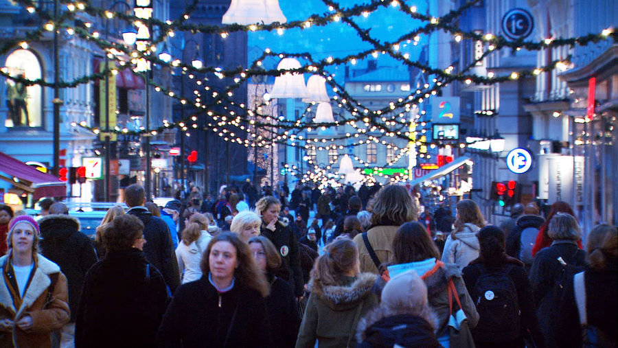 Christmastime in Oslo, Norway