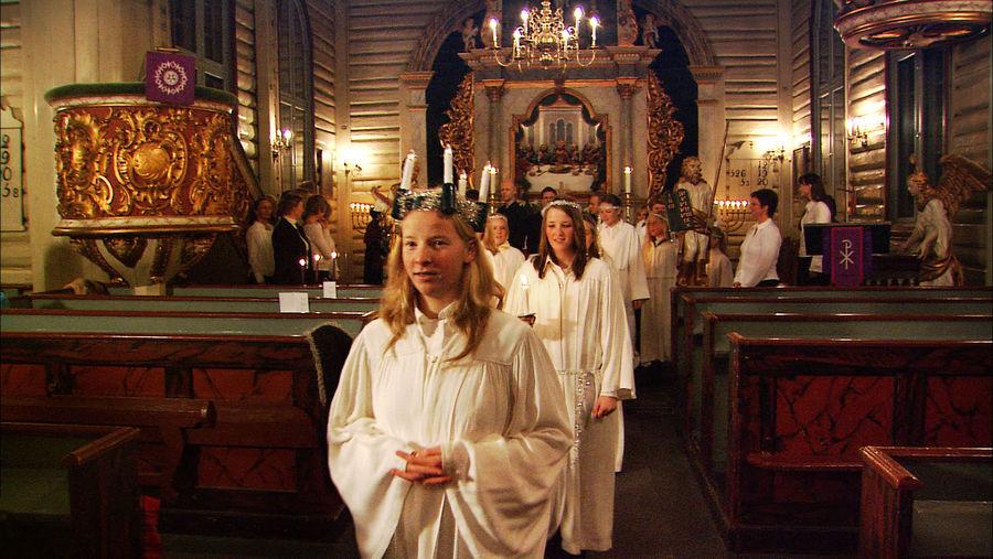 Santa Lucia concert, Drøbak, Norway