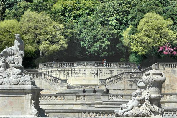Fountain Garden, Nîmes, France