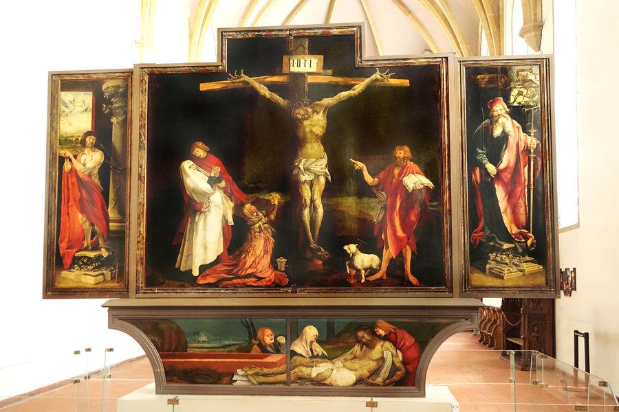 Isenheim Altarpiece, Underlinden Museum, Colmar, France