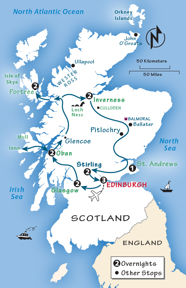 Scotland Itinerary Where To Go In Scotland By Rick Steves