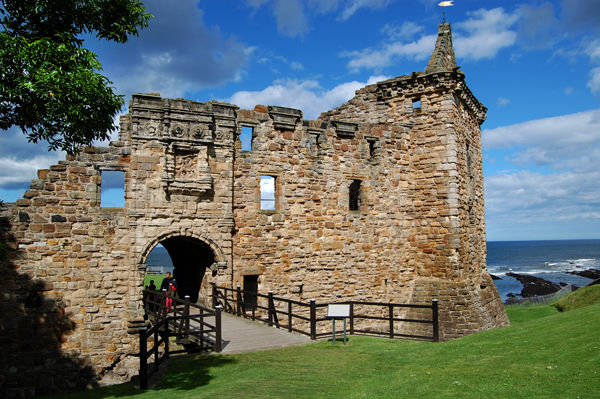 St. Andrews Castle, St. Andrews, Scotland