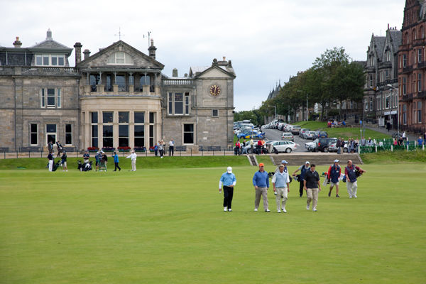 Royal & Ancient Golf Club and the Old Course, St. Andrews, Scotland