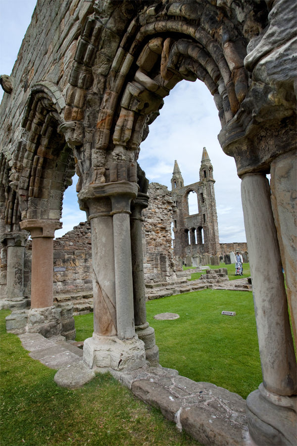 Cathedral ruins, St. Andrews, Scotland