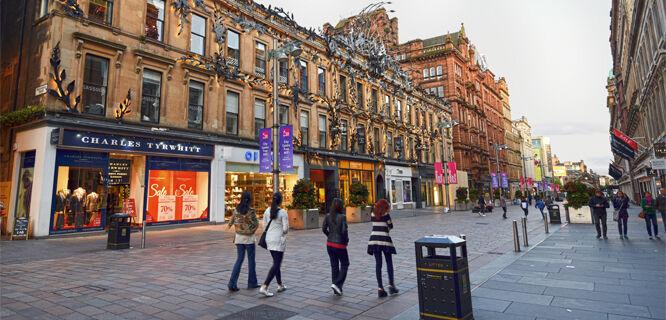 Buchanan Street, Glasgow, Scotland