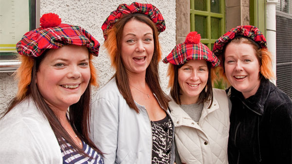 Going native in Edinburgh, Scotland