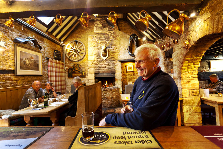 Pub in the Cotswolds, England
