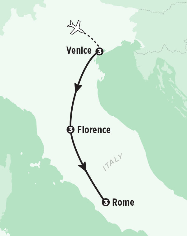 Italian Florence: Best Of Venice, Florence & Rome Tour