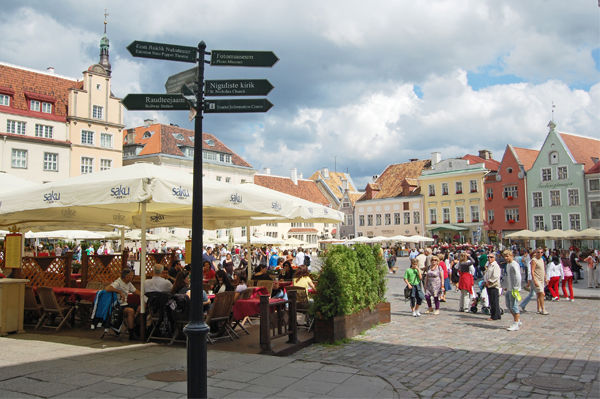 Town Hall Square, Tallinn, Estonia