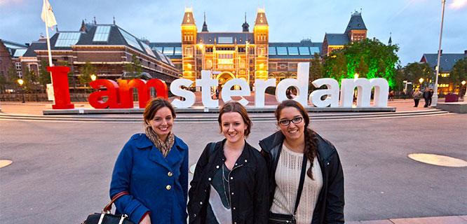 Museumplein, Amsterdam, Netherlands