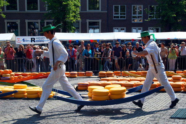 Cheese market, Alkmaar, Netherlands