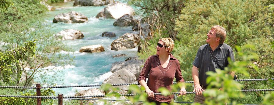 Soča River near Bovec, Slovenia