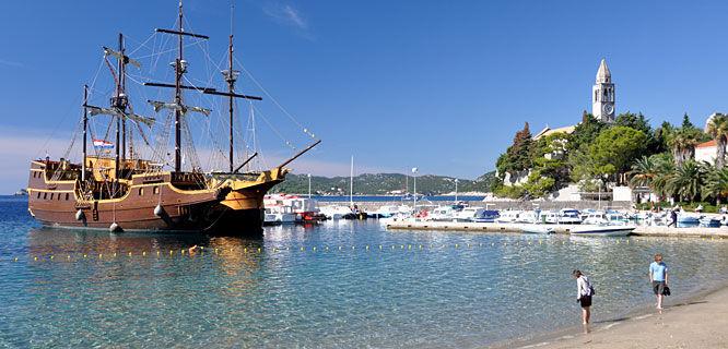 Elaphiti Islands, near Dubrovnik, Croatia