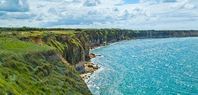 Norman coastline, France