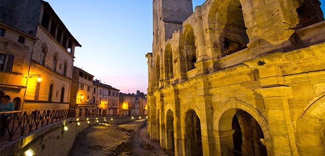 Roman arena, Arles, France