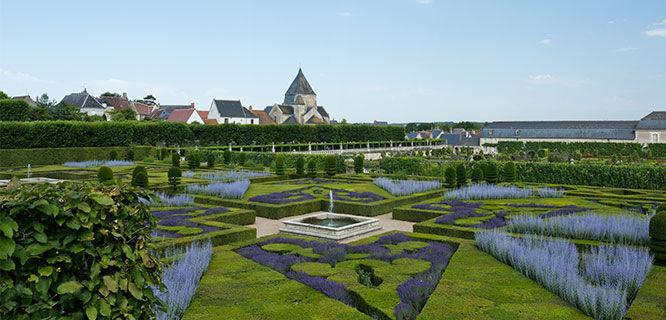 Gardens of Château de Villandry, Villandry, France