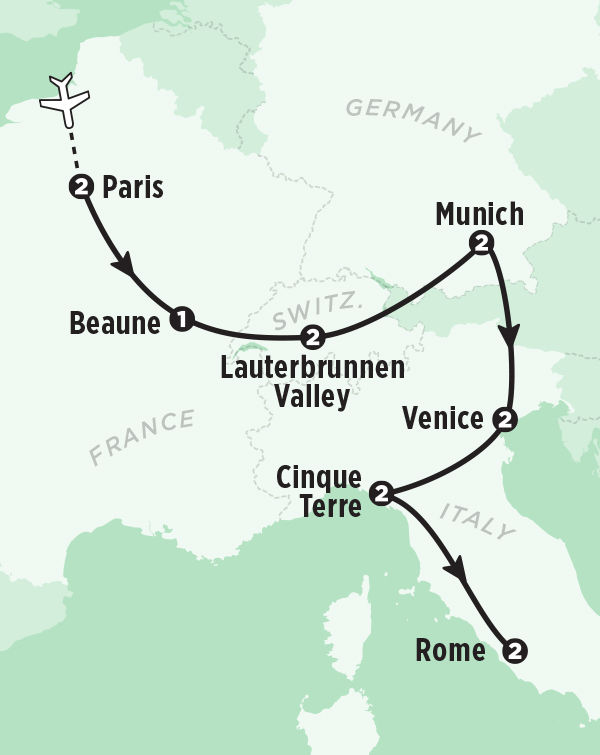 Best Of Europe Vacation Package In Days Rick Steves Tours - Best europe tours