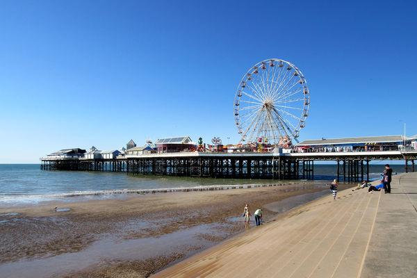 Central Pier, Blackpool, England