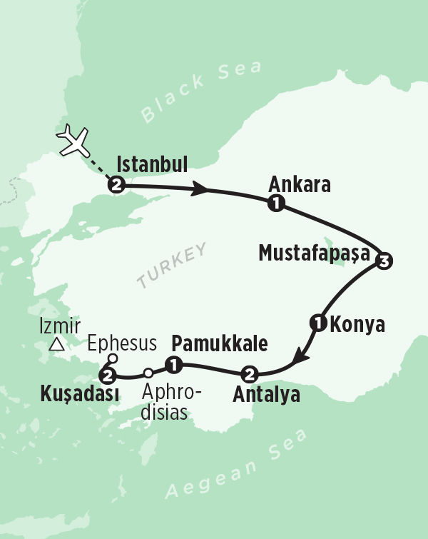 Istanbul escorted tours