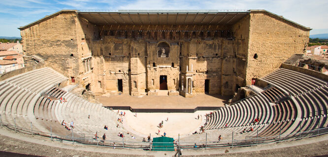 Roman Theater, Orange, France