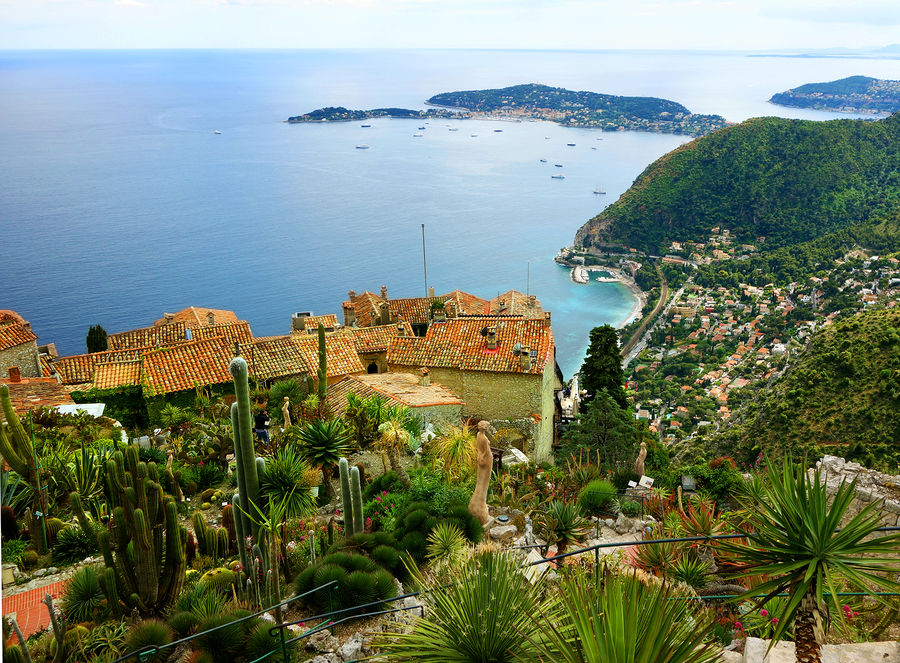 Jardin d'Eze, Eze-le-Village, France