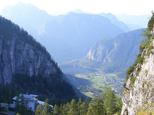 Echern Valley near Hallstatt, Austria