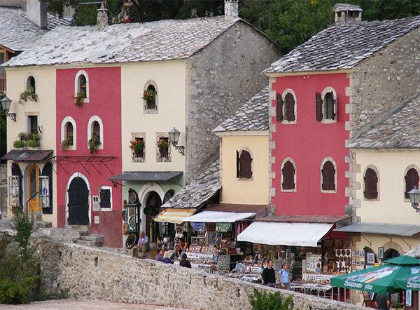 Coppersmiths' Street, Mostar, Bosnia-Herzegovina