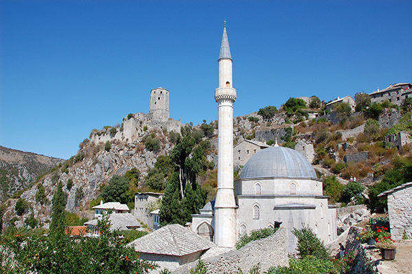 Mosque, Pocitelj, Bosnia-Herzegovina