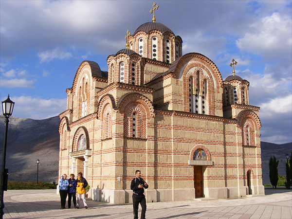 Serbian Orthodox church, Trebinje, Bosnia-Herzegovina