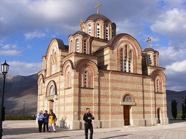 Serbian Orthodox church, Trebinje, Bosnia-Herzegovina