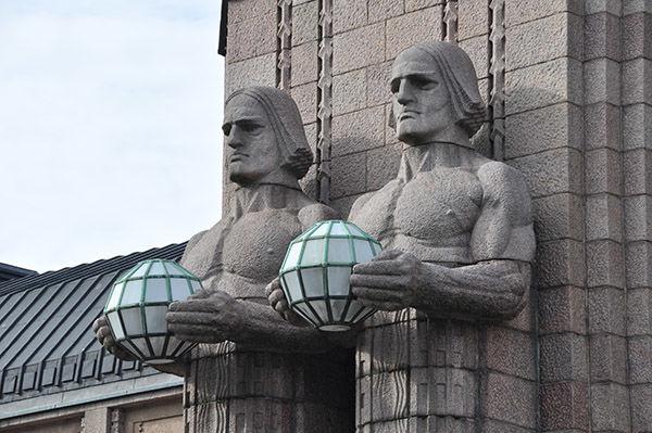 Main train station, Helsinki, Finland