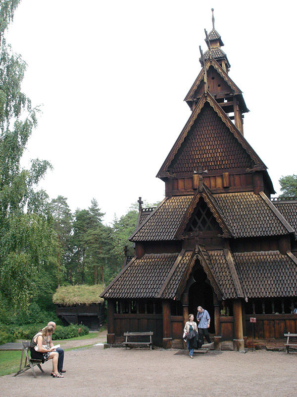 Norwegian Folk Museum, Oslo, Norway