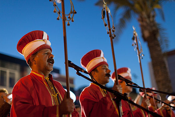 Musicians in Antalya, Turkey