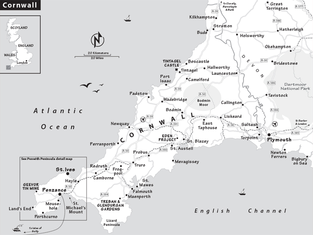 Map Of England Showing Cornwall.Cornwall Travel Guide Resources Trip Planning Info By Rick Steves