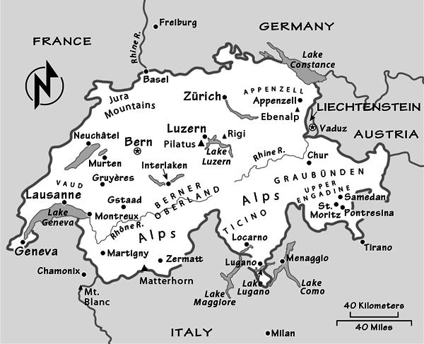 Switzerland - Rick Steves' Europe on eiger map, schaffhausen map, hook of holland map, montreux map, verbier map, grosse scheidegg map, st. moritz map,