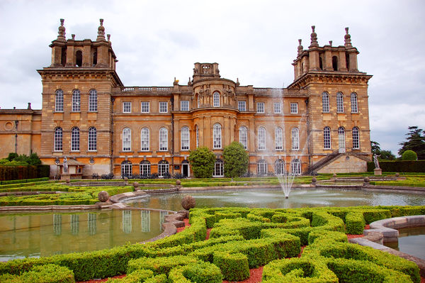 Blenheim Palace, Woodstock (near Oxford), England