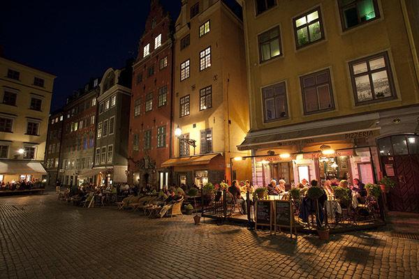 Stortorget square, Stockholm, Sweden