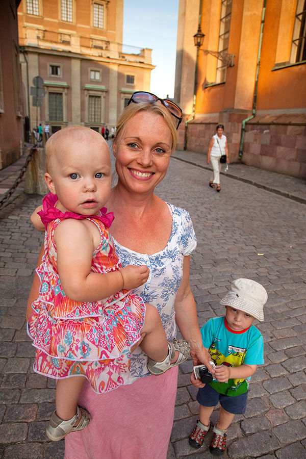 Young Swedes, Gamla Stan, Stockholm, Sweden
