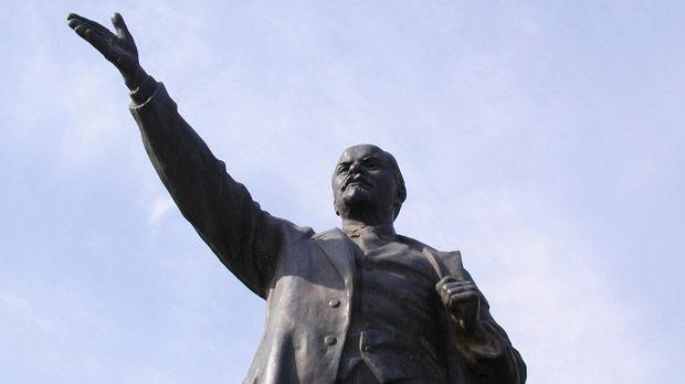 Lenin statue in Memento Park, Budapest, Hungary