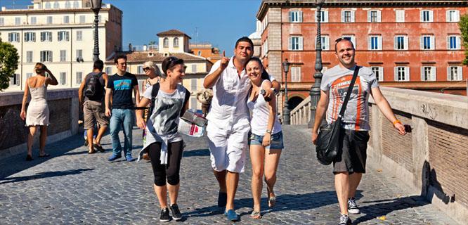 Slide radio italy rome trastevere