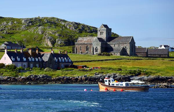 Iona Abbey, Isle of Iona, Scotland