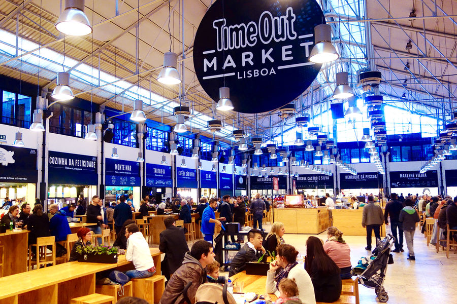"Mercado da Ribeira (""Time Out Market""), Lisbon, Portugal"